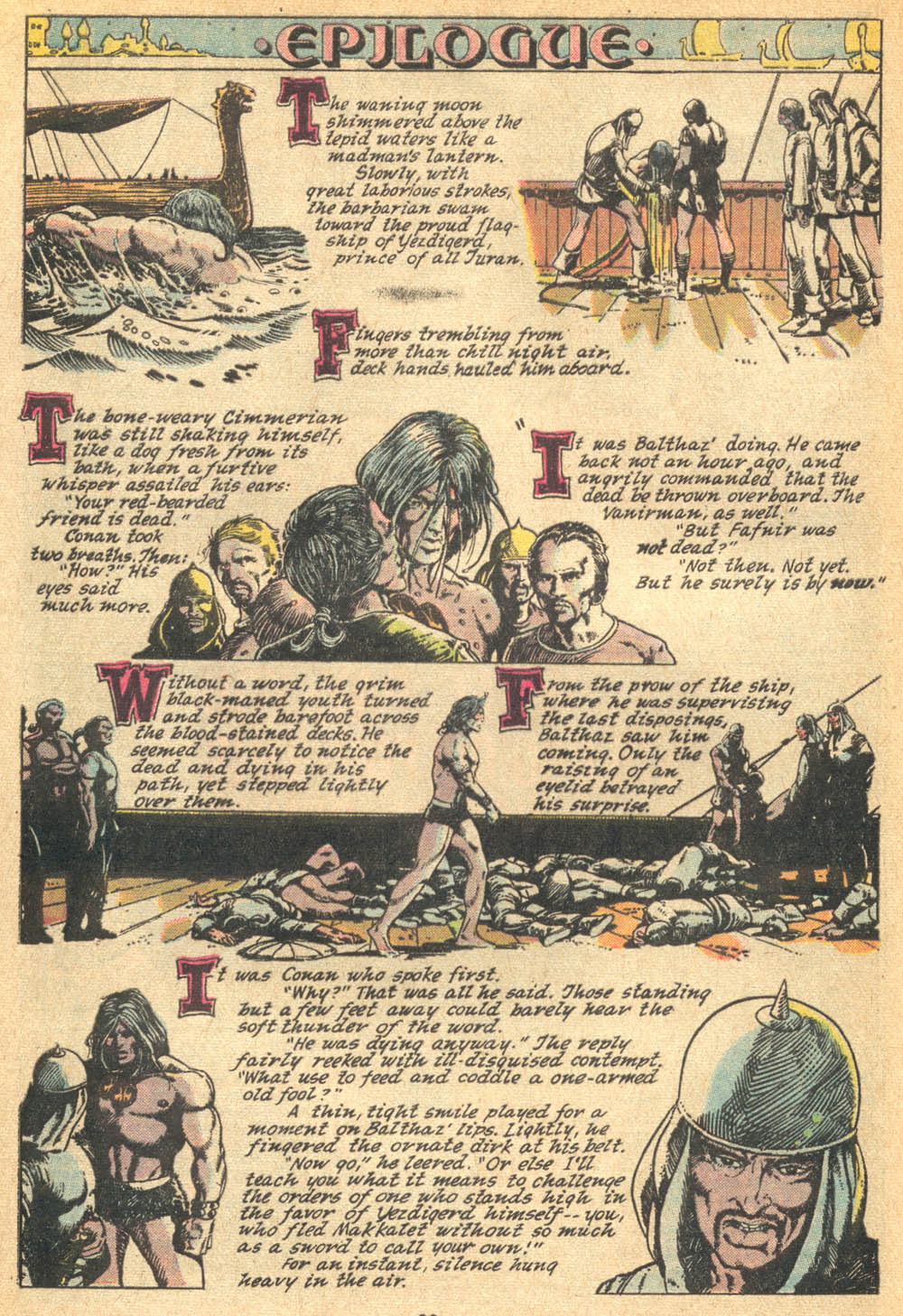 Conan the Barbarian (1970) Issue #20 #32 - English 20