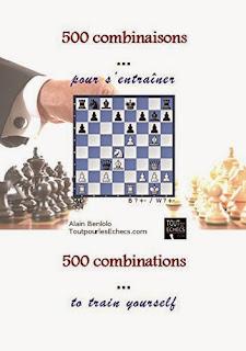 Échecs & Livres :500 combinaisons pour s'entraîner d'Alain Benlolo