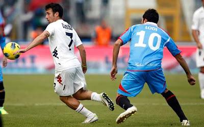 Catania Cagliari 0-1 highlights