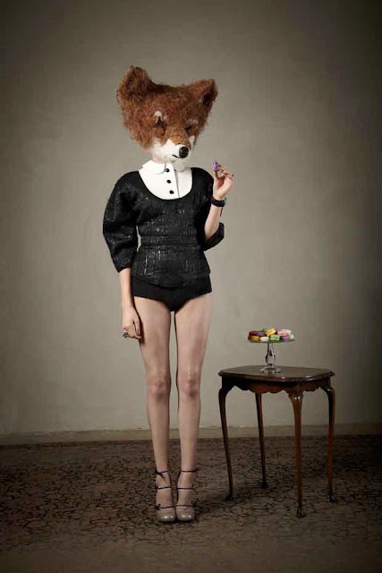 Foxy Lady. Louis Vuitton Tec blouse