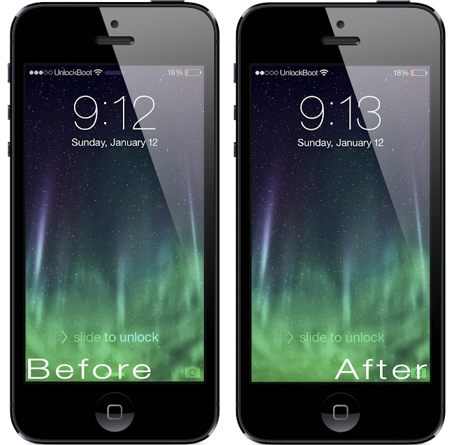 Tabless IOS 7 Tweak