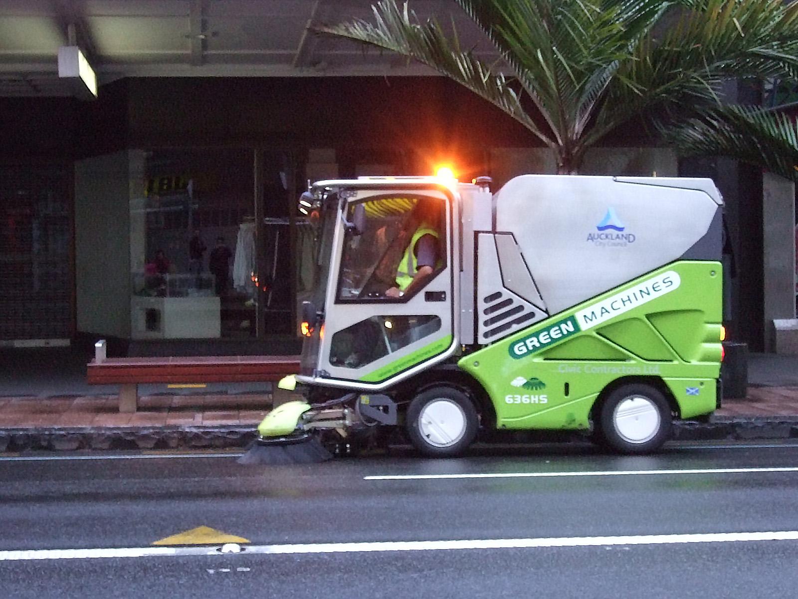 清掃車,ニュージーランド〈著作権フリー無料画像〉Free Stock Photos