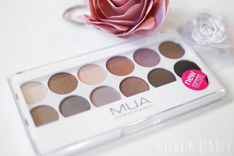 MUA Undress me too eye shadow palette review swatch pictures cheap