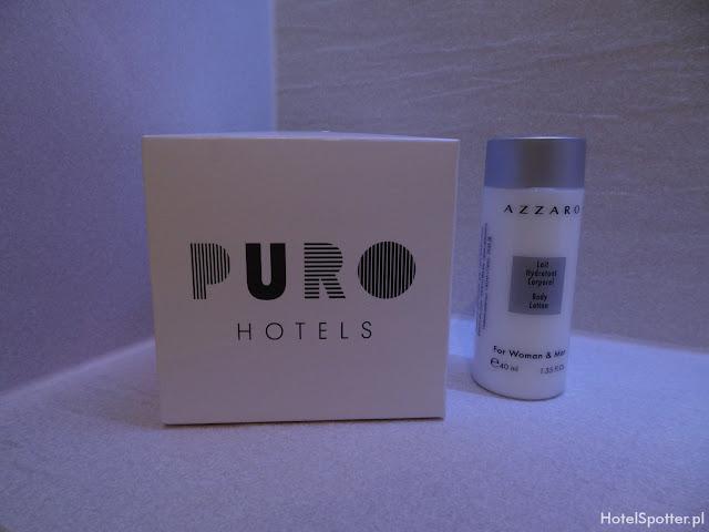 PURO Hotel Wroclaw - kosmetyki azzaro
