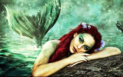 La plus belle images d'une jolie sirènes