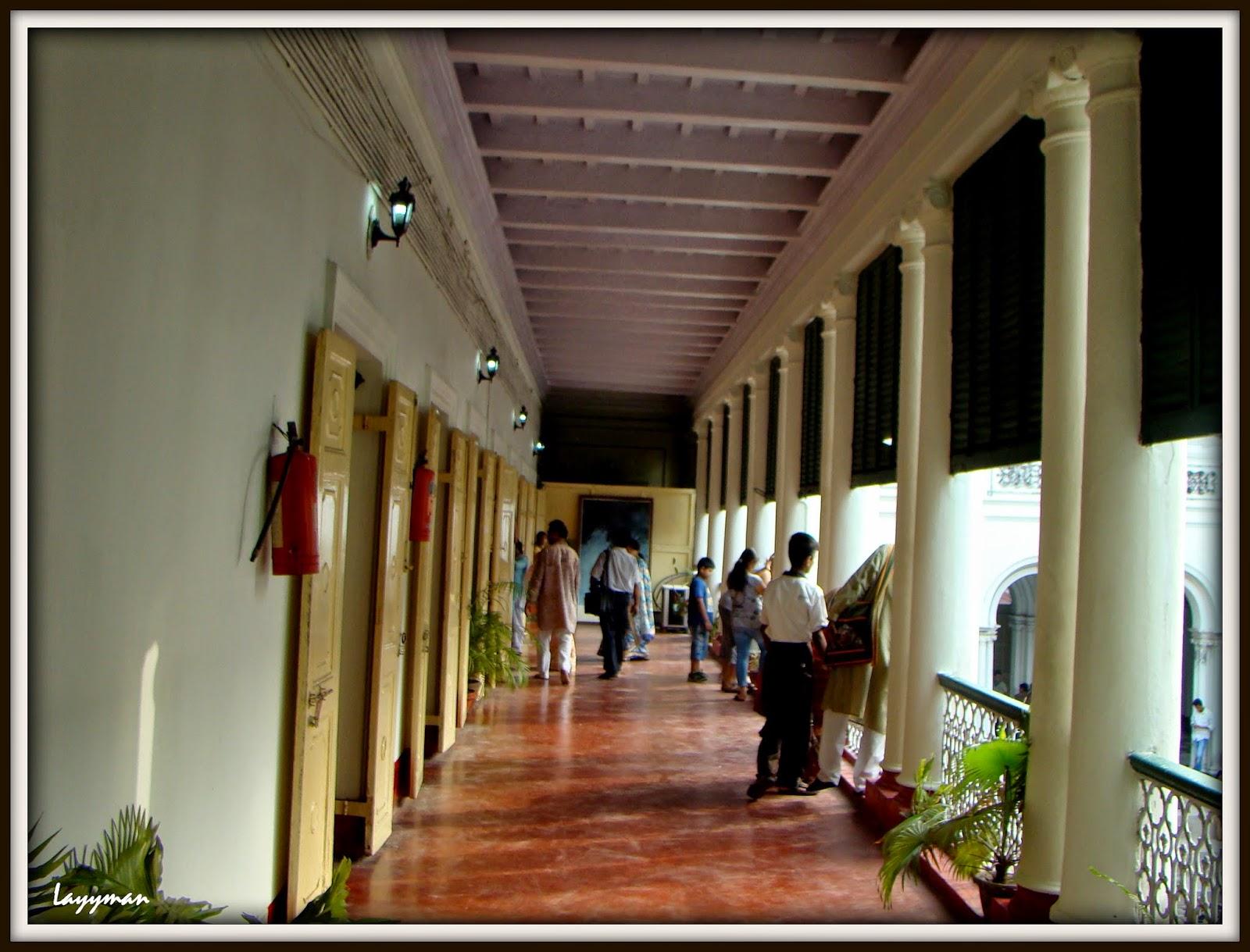 Inner Verandah on 1st Floor. Jorasanko Thakur Bari