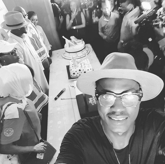 2Face Idibia's 40th birthday celebration with Nigerian Red Cross!