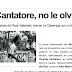La dura enfermedad de Vicente Cantatore