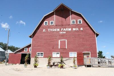 Agri-Tourism in Iowa - Showcasing Iowa's Agriculture Legacy at Tyden Farm No. 6, Dougherty, Iowa