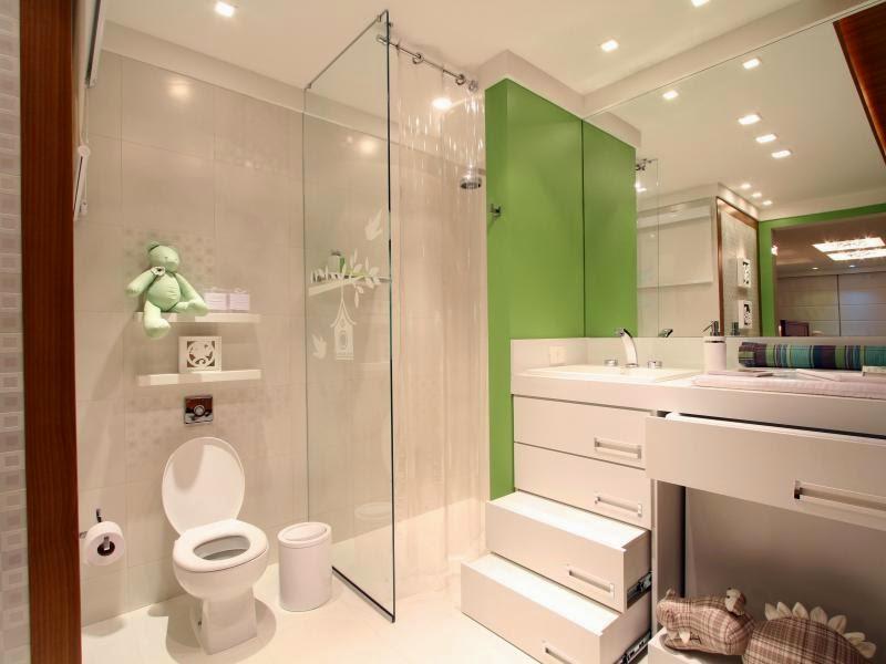Banheiros de bebês – veja modelos lindos para meninas e meninos + dicas!  De -> Decoracao Banheiro Educacao Infantil