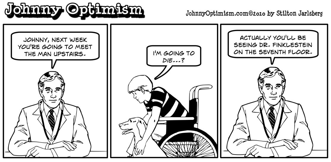 johnnyoptimism, johnny optimism, man upstairs