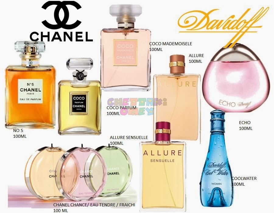 I HATE FAKE PERFUME!: Fake Women's Perfumes