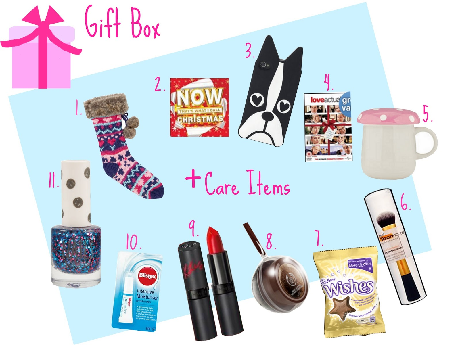 gift idea christmas care package - Christmas Care Package Ideas