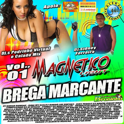 CD MAGNETICO LIGHT BREGA MARCANTES VOL.01