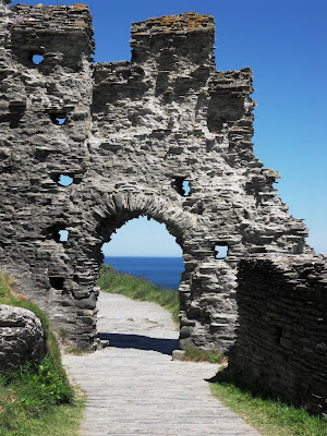 Tintagel Castle of King Arthur legend