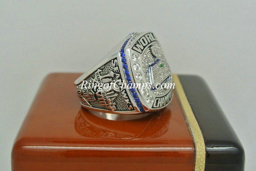 2013 Seattle Seahawks Surper Bowl ring