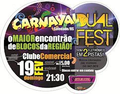 "CARNAVAL 2012 ""DUALFEST"" SOLEDADE-RS    OPILATI DORNELES PILATI MAISNOVA FM RADIO SOLEDADE PREFEITU"
