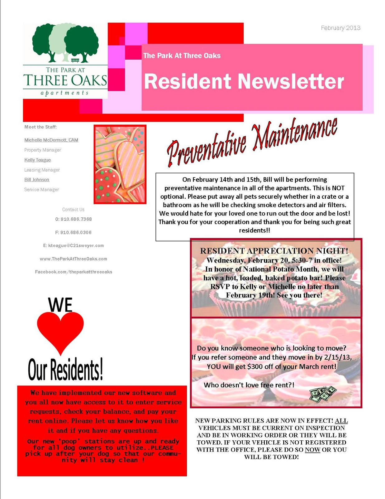 apartment community newsletter templates costumepartyrun