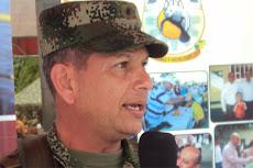 General Alfredo Bocanegra Navia Comandante de la Quinta Brigada