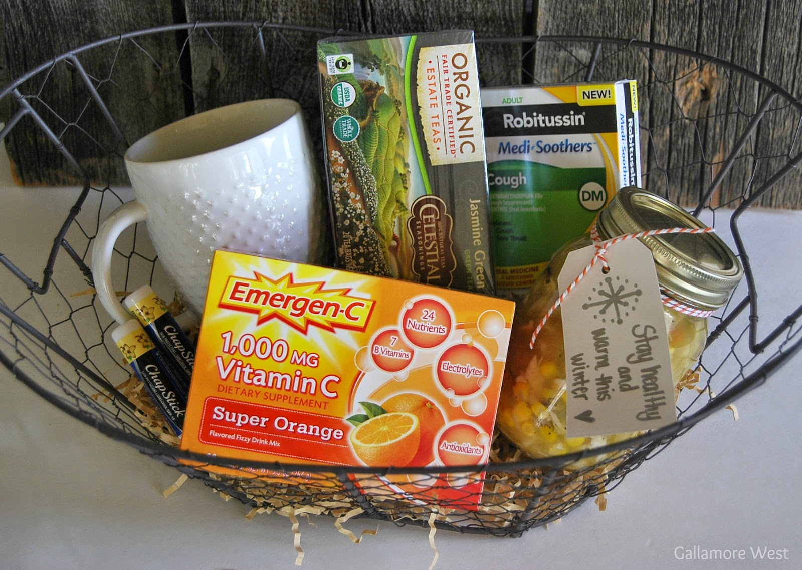 Gallamore west easy ways to find relief from your cold and youve got yourself an affordable and truly thoughtful get well soon basket for someone you love solutioingenieria Gallery