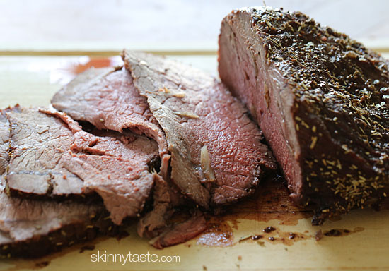 Garlic Lover's Roast Beef | Skinnytaste