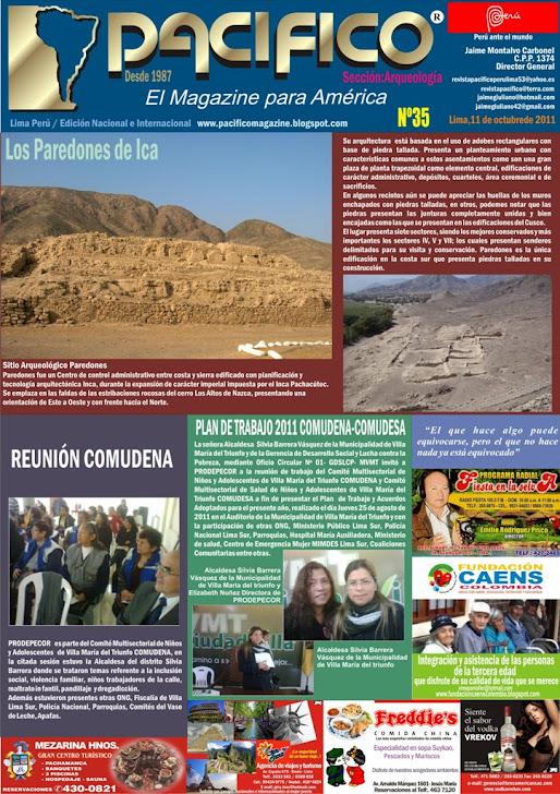 Revista Pacífico Nº 35 Arqueología