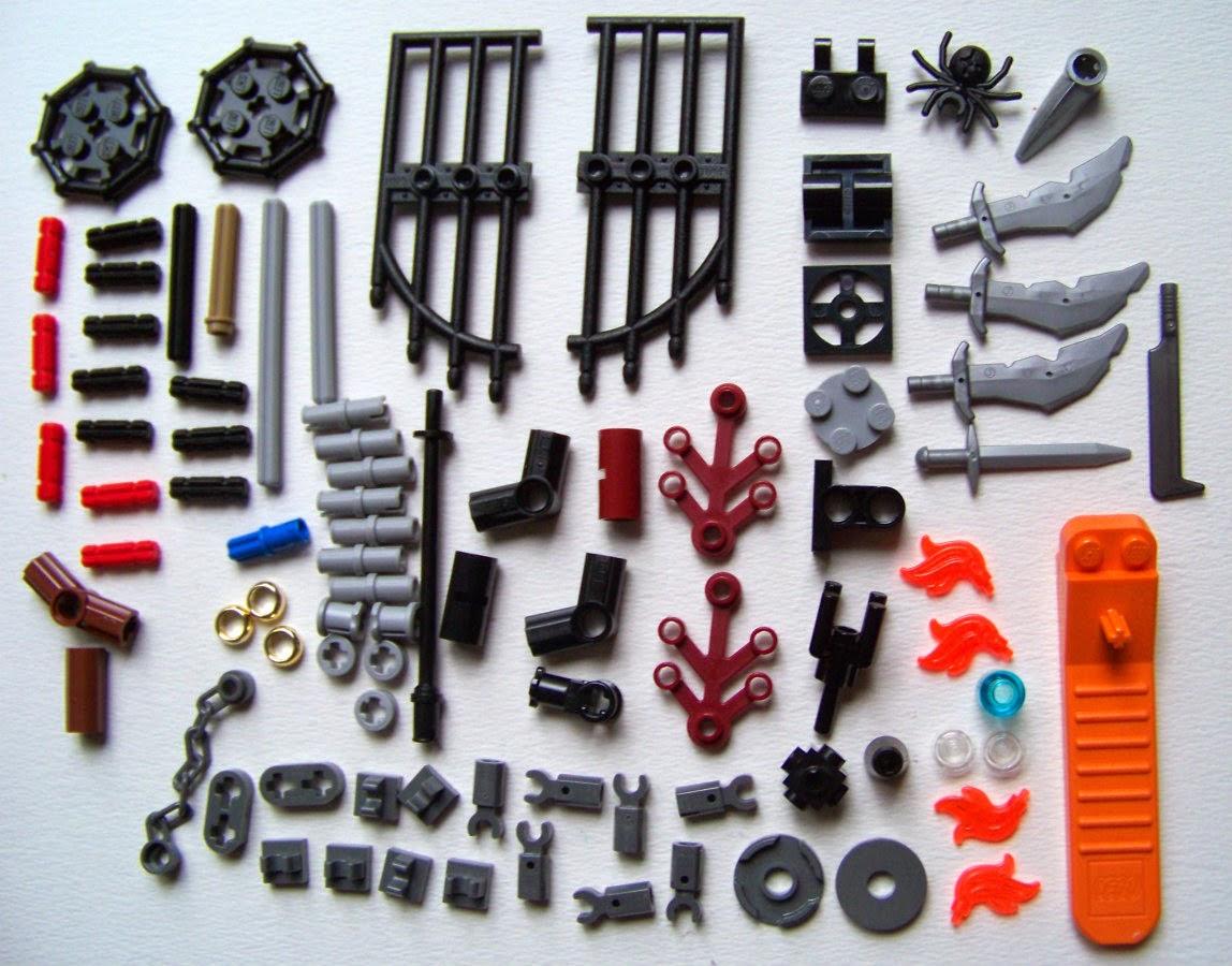LEGO Dol Guldur Battle Parts