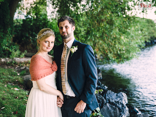 Lindsay and Peter wed at Washington Park Arboretum - Patricia Stimac, Seattle Wedding Officiant