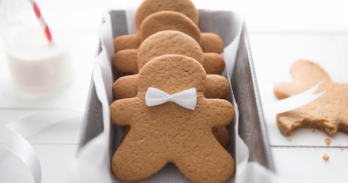 Vegan Gingerbread Men Cookies Recipe