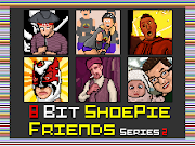 Pixel Art 2. I've made another 8bit collage from my friend's avatars.