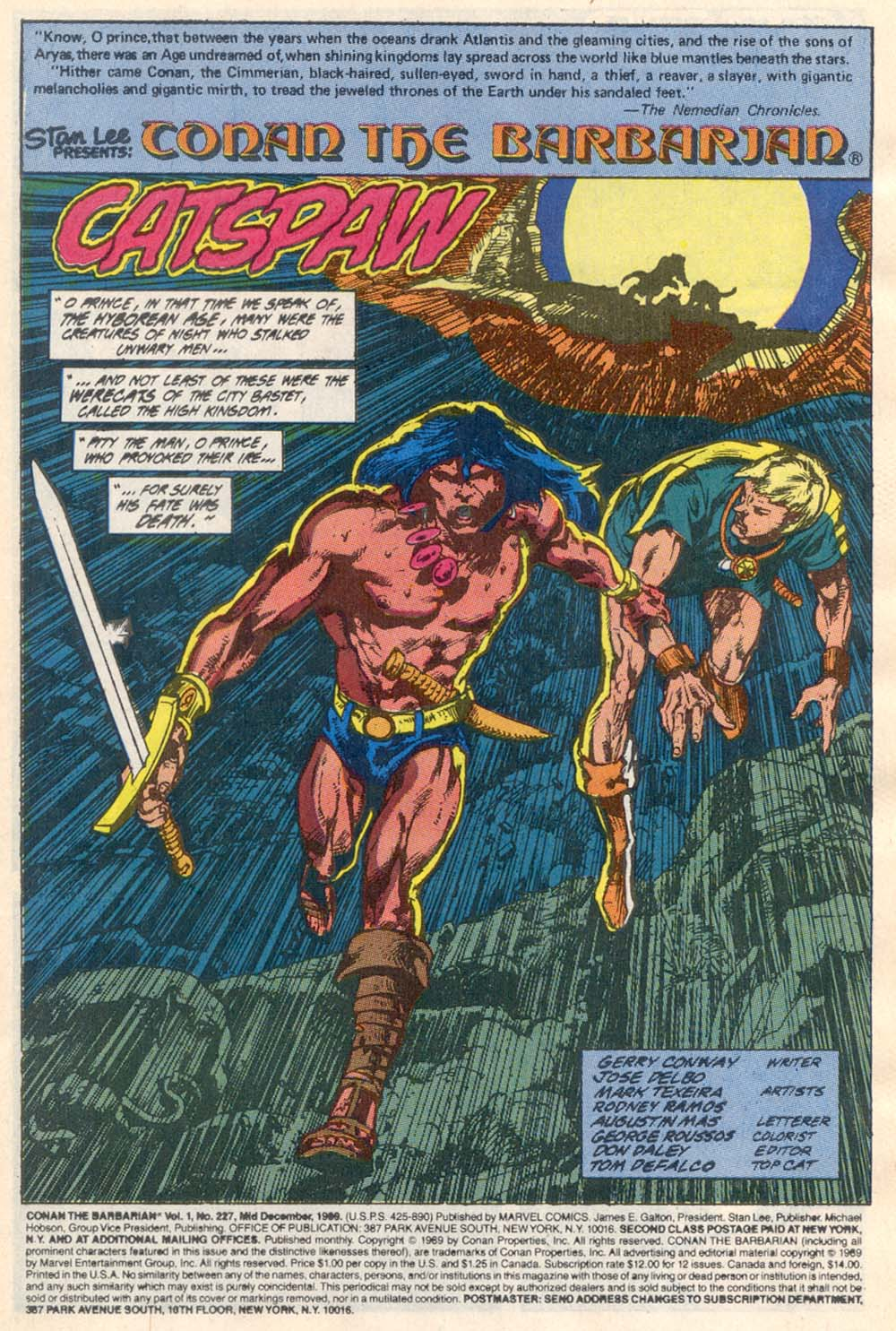 Conan the Barbarian (1970) Issue #227 #239 - English 2