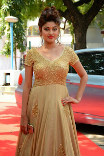 Oviya Latest Pictures in Long Dress at Sandamarutham Audio Launch  0002