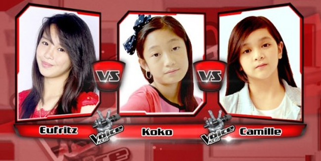 Eufritz Won Over Koko and Camille on The Sing-offs for The Voice Kids Philippines