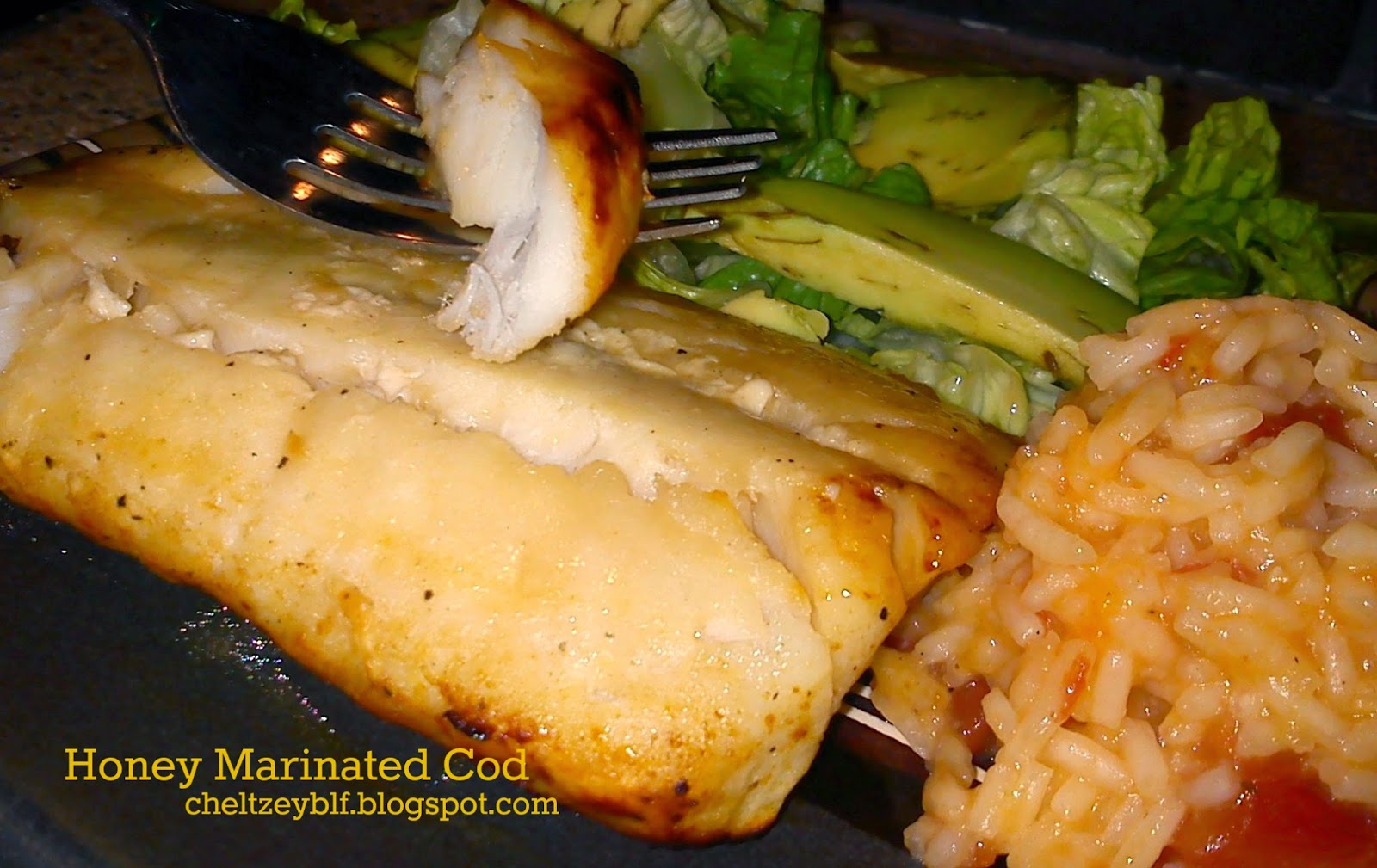 It's the Best Life!: Honey Baked Cod
