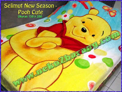 Selimut New Season - Pooh Cute