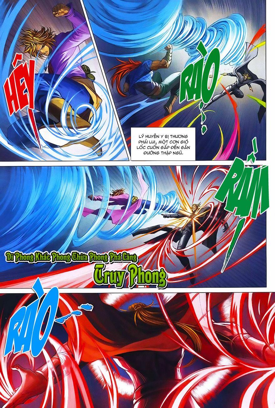 Tứ Đại Danh Bổ chap 371 – End Trang 9 - Mangak.info
