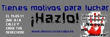 Movimiento 15 M Democracia Real ¡YA!