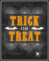 Trick or Treat Printable from Blissful Roots