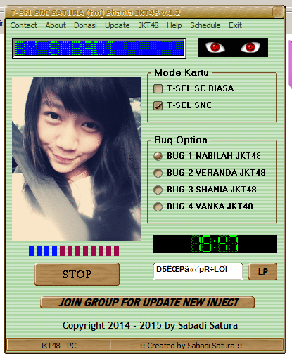 Download Inject T-SEL SNC SATURA (tm) Shania JKT48 v1.2 - Work 2015
