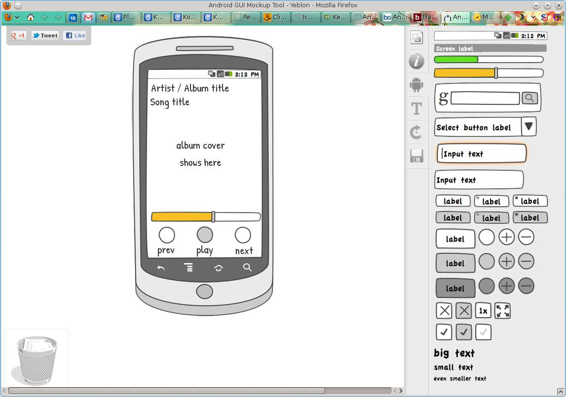 yeblon is not suitable for mockup drawing or anything - Android Mockup Tool Free