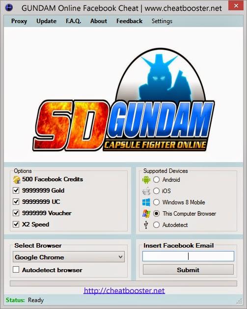 Gundam Online Hack