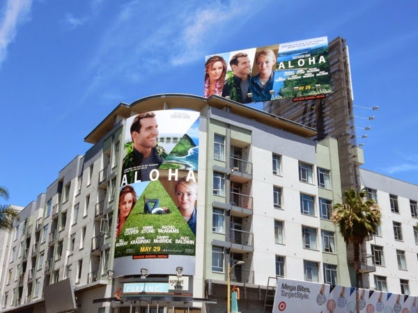Aloha movie billboards