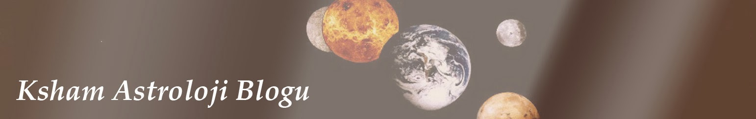 Ksham Astroloji Blogu