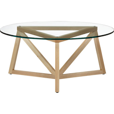 Flourish Design Style Coffee Tables Small Scale Under