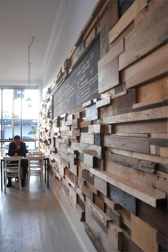Home decor idea for the home unique wall treatments and - Rustic wall covering ideas ...