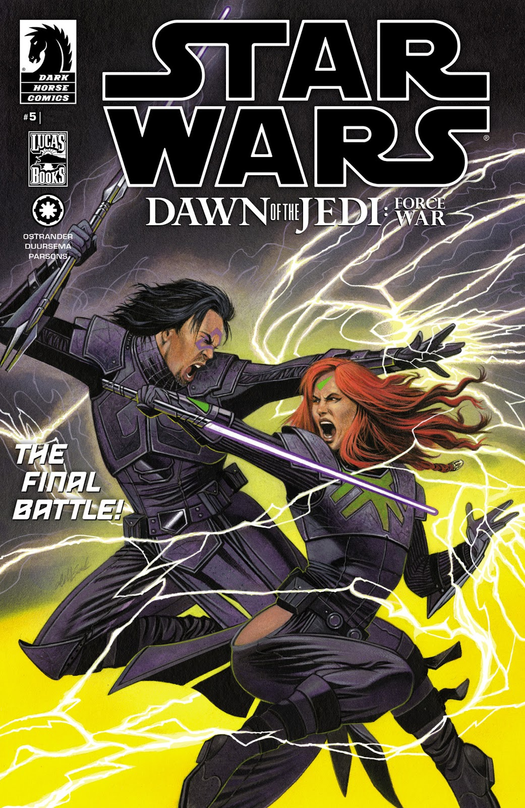 Star Wars: Dawn of the Jedi - Force War issue 5 - Page 1