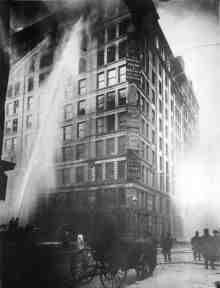Triangle Shirtwaist Fire, March 2011