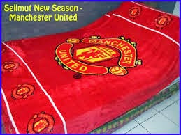 Jual Selimut New Seasons Blanket Manchester United