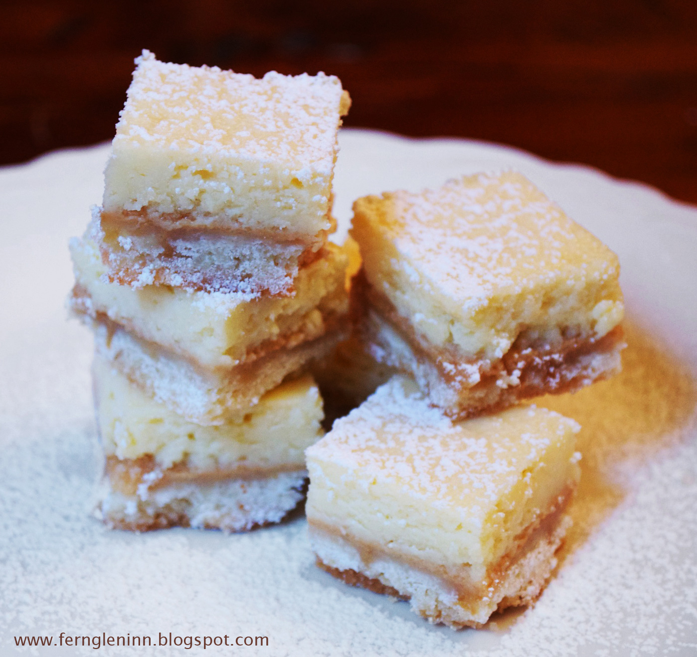 Fern Glen Inn - Seasons and Reasons: Dulce de Leche Cheesecake Squares