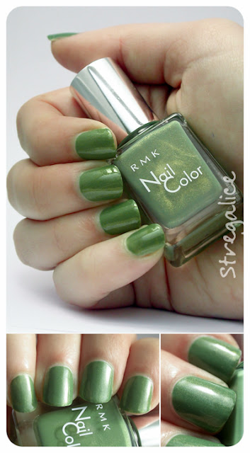 RMK EX-06 Green swatches
